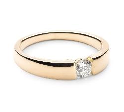 """Saderināšanās gredzens ar briljantu """"Starp klintīm 3"""""""