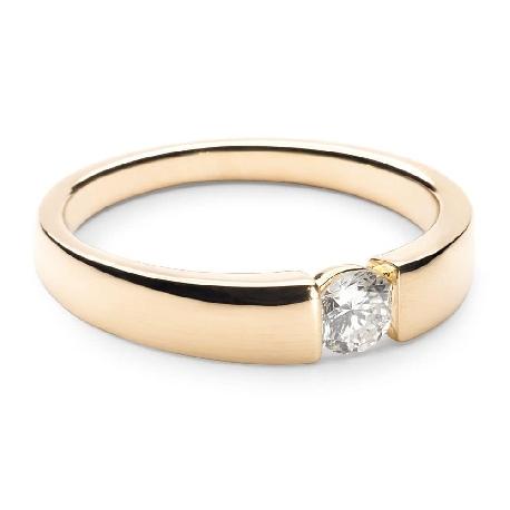 """Помолвочное кольцо с бриллиантом """"Среди скал 3"""""""