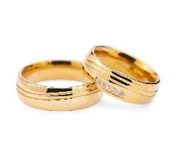 "Zelta Laulību gredzeni ""VKA128"""