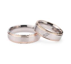 """Laulību gredzeni ar dimantiem """"VMA 131"""""""