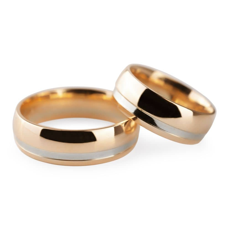 "Zelta laulību gredzeni ""VKA 313"""