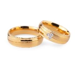 """Auksiniai vestuviniai žiedai """"VKA132"""""""