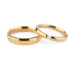 "Zelta Laulību gredzeni ""VKA133"""
