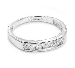 "Zelta gredzens ar briljantiem ""Dimanta jostīte 12"""
