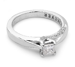 """Saderināšanās gredzens ar Dimantiem """"Princese 4"""""""