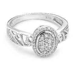 "Золотое кольцо с Бриллиантами ""Корона 3"""