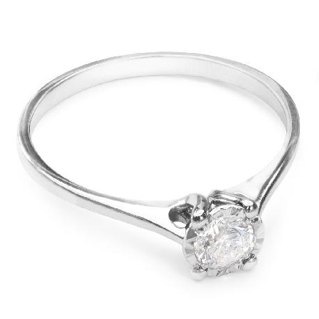 """Saderināšanās gredzens ar briljantu """"Mīļais 11"""""""