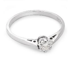 """Помолвочное кольцо с бриллиантом """"Единственная 47"""""""