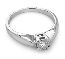 """Помолвочное кольцо с бриллиантом """"Возлюбленный 3"""""""