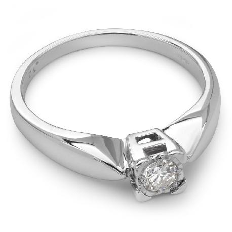 """Saderināšanās gredzens ar briljantu """"Mīļais 3"""""""