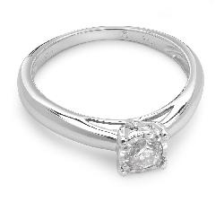 """Saderināšanās gredzens ar briljantu """"Mīļais 4"""""""
