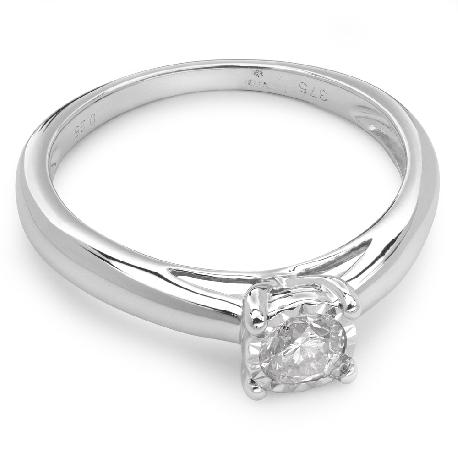 """Помолвочное кольцо с бриллиантом """"Возлюбленный 4"""""""
