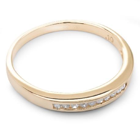 "Zelta gredzens ar Briljantiem ""Dimanta jostīte 16"""