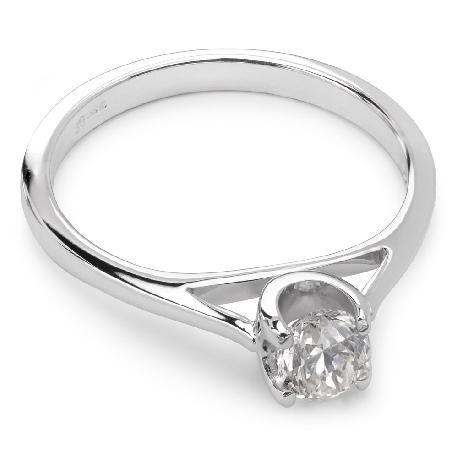 """Помолвочное кольцо с бриллиантом """"Богиня 21"""""""