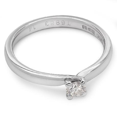 """Saderināšanās gredzens ar briljantu """"Viesulis 4"""""""