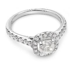 """Помолвочное кольцо с Aлмазами """"Бриллиантовый букет 11"""""""