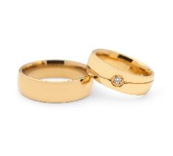 """Laulību gredzeni ar dimantiem """"VKA 120"""""""