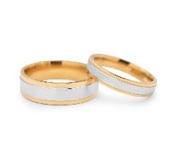 "Zelta laulību gredzeni ""VKA 322"""