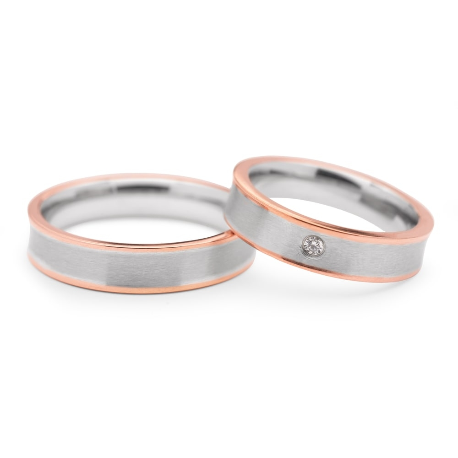 """Zelta laulību gredzeni """"VMA 108"""""""