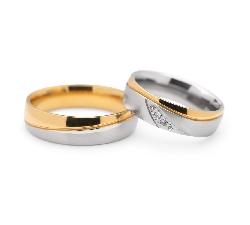 """Laulību gredzeni ar dimantiem """"VKA 102"""""""