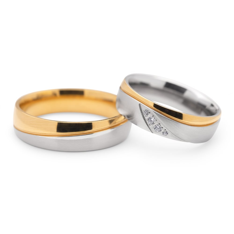 "Zelta Laulību gredzeni ""VKA102"""