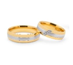 "Zelta Laulību gredzeni ""VKA096"""