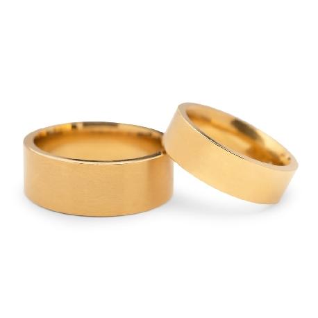 "Zelta laulību gredzeni ""VKA 317"""