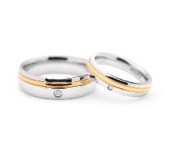 "Zelta Laulību gredzeni ""VK101"""