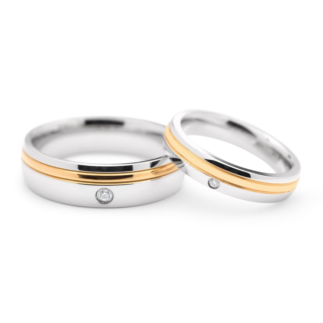 "Zelta laulību gredzeni ""VKA 323"""