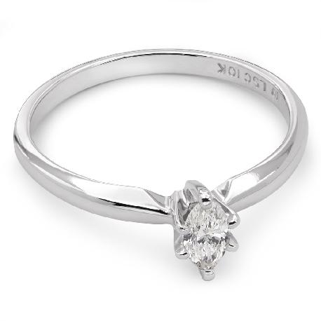 """Saderināšanās gredzens ar dimantu """"Klasika 17"""""""