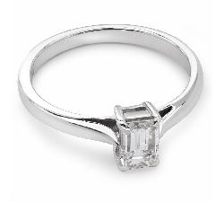 """Помолвочное кольцо с Aлмазом """"Прочность 41"""""""