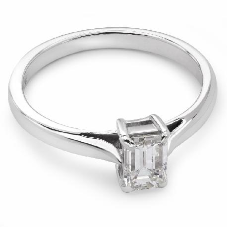 """Помолвочное кольцо с алмазом """"Прочность 41"""""""