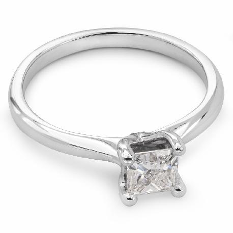 """Помолвочное кольцо с Aлмазом """"Принцесса 13"""""""
