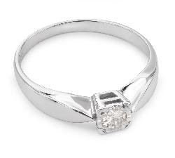 """Помолвочное кольцо с Бриллиантом """"Возлюбленный 18"""""""