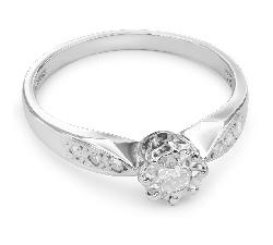 """Помолвочное кольцо с Бриллиантами """"Возлюбленный 20"""""""
