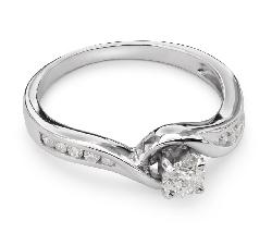 """Zelta gredzens ar Dimantiem """"Dzīve 15"""""""