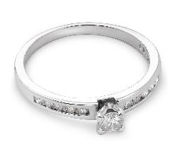 """Помолвочное кольцо с Бриллиантами """"Грациозность 43"""""""