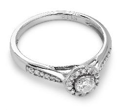 """Помолвочное кольцо с Бриллиантами """"Бриллиантовый букет 19"""""""