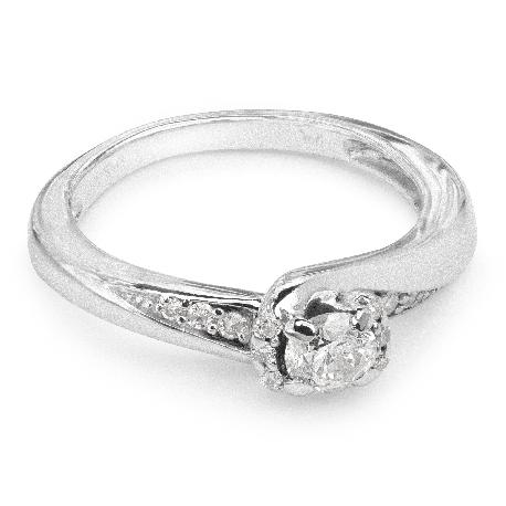 """Zelta gredzens ar Dimantiem """"Dzīve 17"""""""