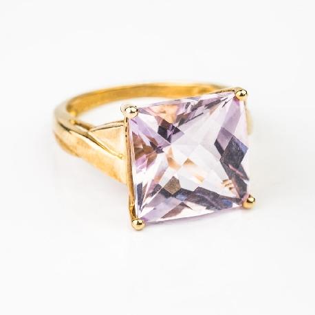 """Zelta gredzens ar dārgakmeņiem """"Krāsas 2"""""""