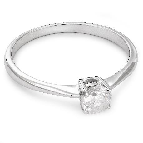 """Помолвочное кольцо с Бриллиантом """"Прочность 53"""""""