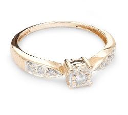 """Помолвочное кольцо с Бриллиантами """"Возлюбленный 29"""""""