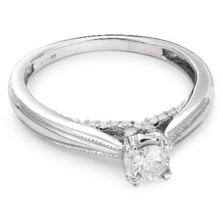 """Помолвочное кольцо с Бриллиантами """"Грациозность 55"""""""