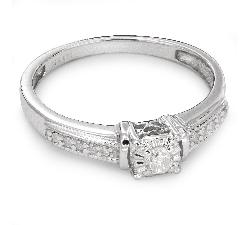 """Помолвочное кольцо с Бриллиантами """"Возлюбленный 30"""""""