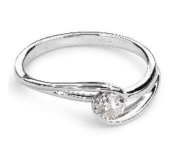 """Saderināšanās gredzens ar Briljantu """"Dzīve 19"""""""
