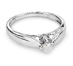 """Помолвочное кольцо с Бриллиантом """"Принцесса 16"""""""
