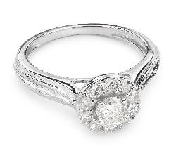 """Помолвочное кольцо с Бриллиантами """"Бриллиантовый букет 26"""""""