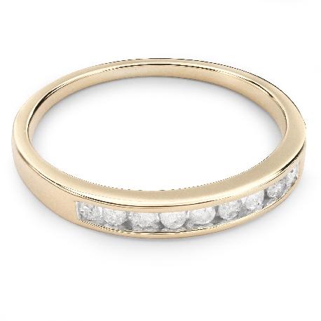 "Zelta gredzens ar Briljantiem ""Dimanta jostīte 19"""