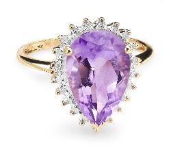 """Zelta gredzens ar dārgakmeņiem """"Krāsas 25"""""""