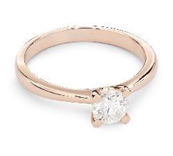 """Помолвочное кольцо с Бриллиантом """"Богиня 39"""""""